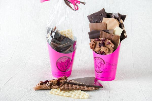 Pochons d'éclats de chocolats 400g|Pochons d'éclats de chocolats|Pochons d'éclats de chocolats